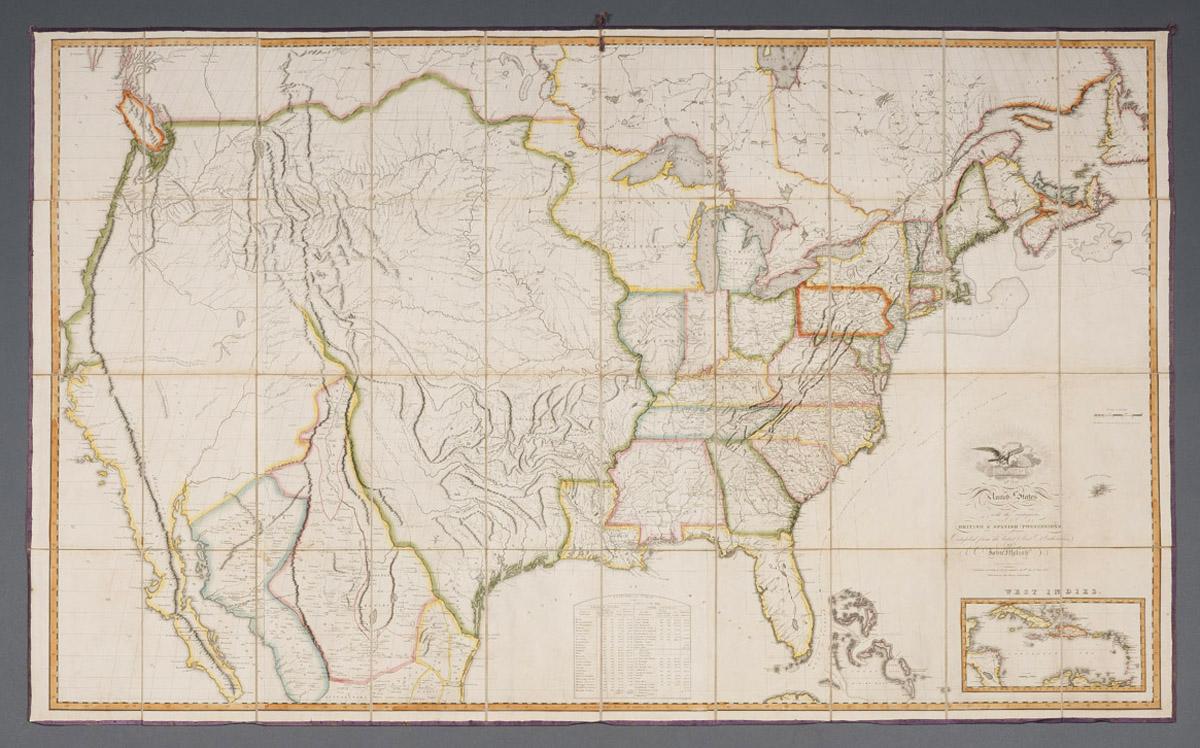 Sociable Maps Common Destinations - John wallis map of the us