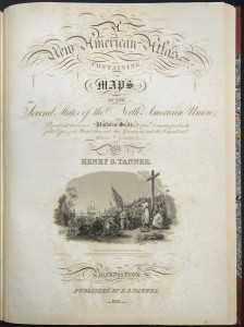 Winterthur Common Destinations (Maps) Tanner Atlas title page Maclean Collection