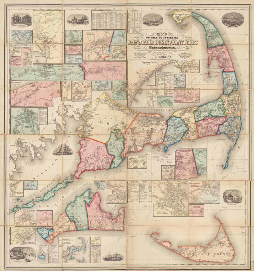 Winterthur Common Destinations (Maps) Nantucket Map Harvard Pusey Map collection