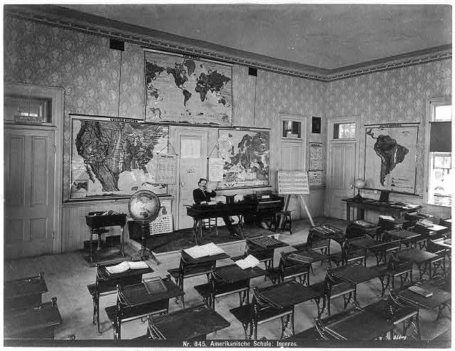 Winterthur Common Destinations (Maps) School room Vienna LOC